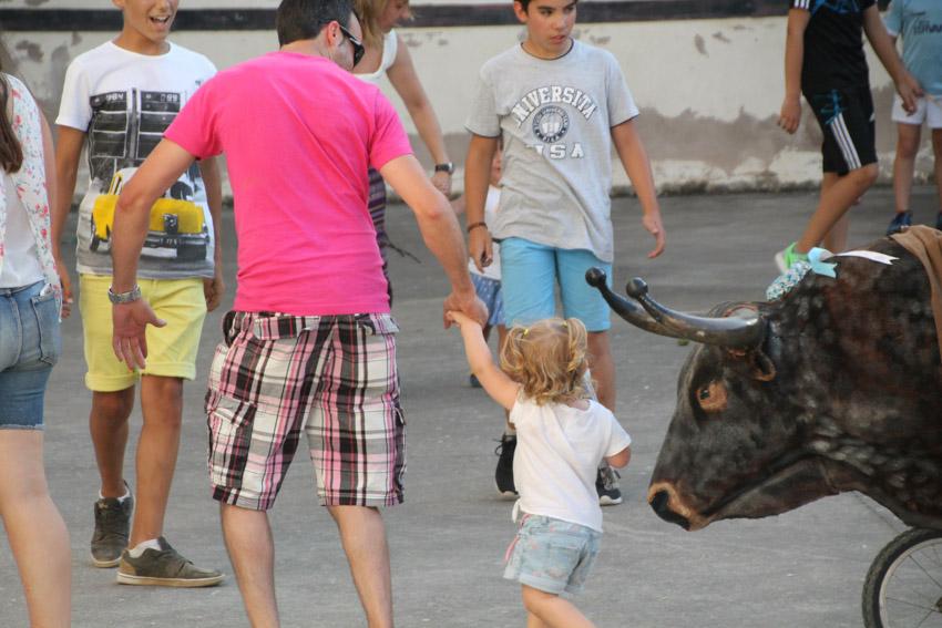 Encierros infantiles con carretones